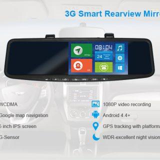 Camera hành trình JC900 FULL HD 3G Wifi dẫn đường