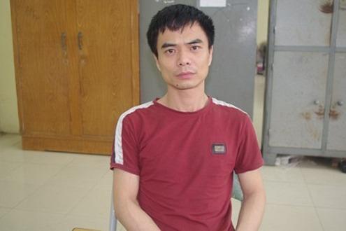 Nguyễn Thế Hùng thời điểm bị bắt giữ