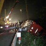 Khởi tố vụ án xe khách đâm xe tải trên cao tốc Pháp Vân