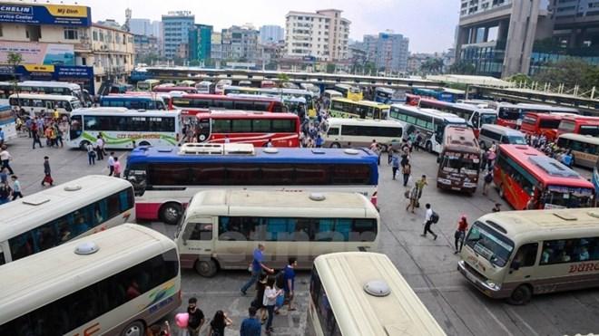 Ảnh minh họa. (Ảnh: Minh Sơn/Vietnam+) ------------ Xem thêm: Hơn 1.000 ôtô bị thu hồi phù hiệu do vi phạm về truyền dữ liệu, http://vietbao.vn/Xa-hoi/Hon-1000-oto-bi-thu-hoi-phu-hieu-do-vi-pham-ve-truyen-du-lieu/410868663/157/ Tin nhanh Việt Nam ra thế giới vietbao.vn