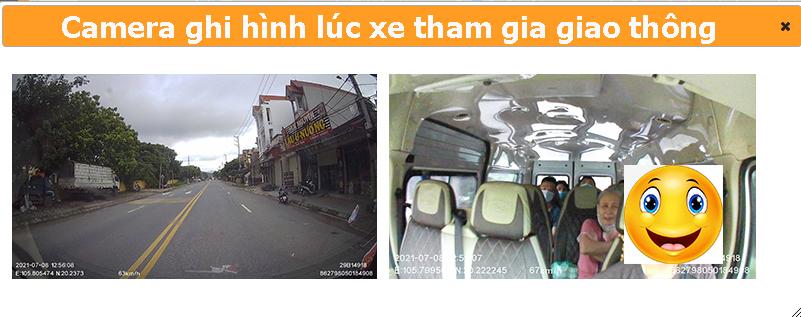 Camera ghi hình lúc xe tham gia giao thông