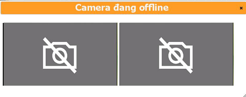 camera offline